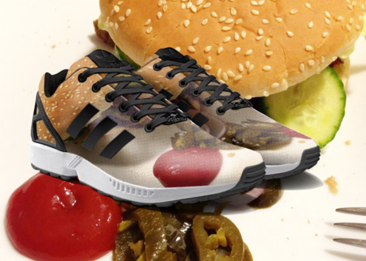 adidas ZX Flux To Become mi Adidas Design Option with Photorealistic Print - 12