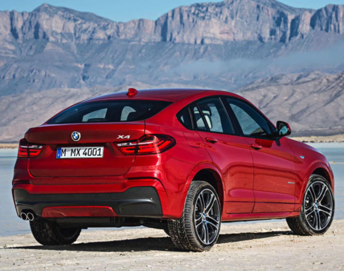 BMW X4 Sports Activity Coupe - Officially Unveiled - 17