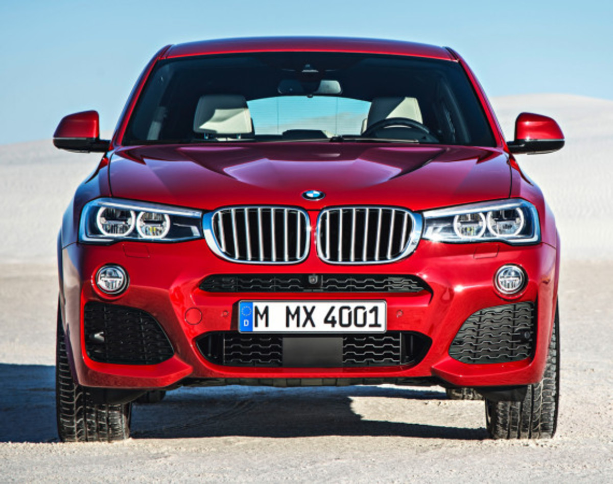 BMW X4 Sports Activity Coupe - Officially Unveiled - 0
