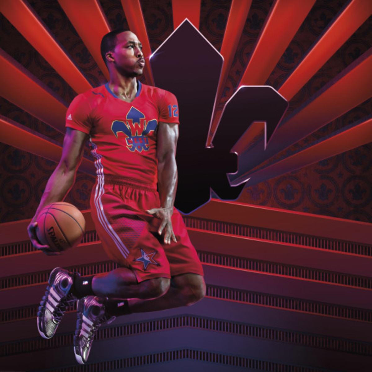 adidas Basketball Dwight Howard 4 - NBA All-Star Game Edition - 2