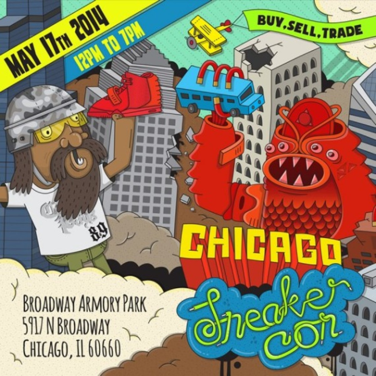 Sneaker Con Chicago – May 17th, 2014 | Event Reminder - 1
