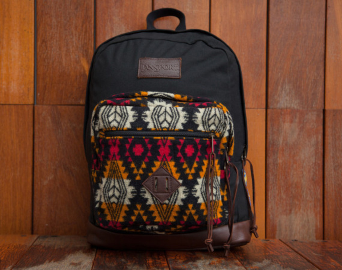 """Benny Gold x JanSport x Pendleton - Spring 2014 Limited Edition """"Right"""" Pack - 0"""