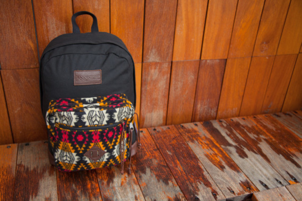 """Benny Gold x JanSport x Pendleton - Spring 2014 Limited Edition """"Right"""" Pack - 5"""