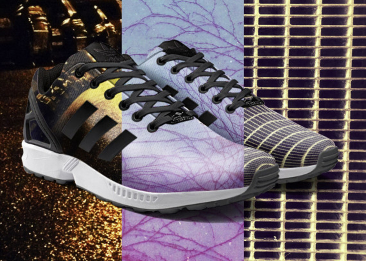 adidas ZX Flux To Become mi Adidas Design Option with Photorealistic Print - 13