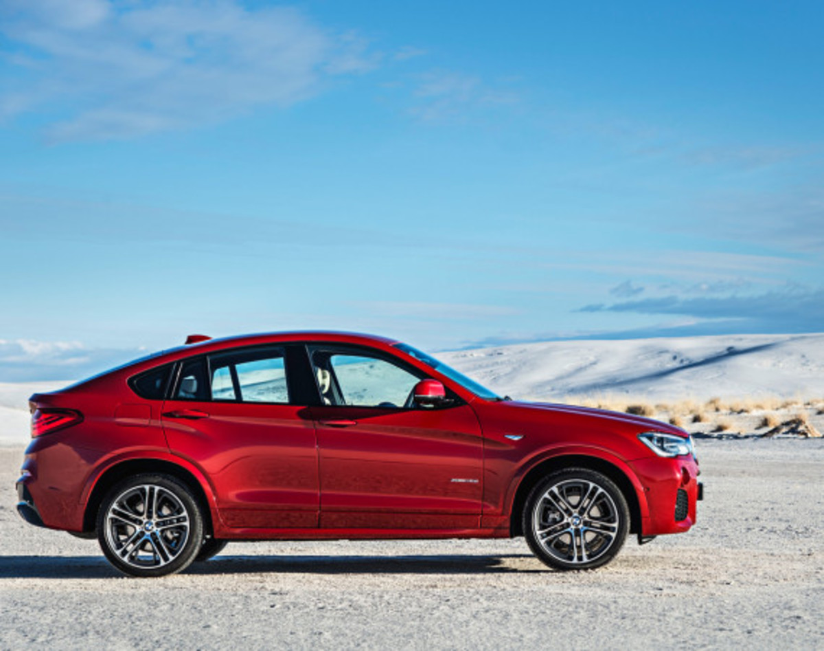 BMW X4 Sports Activity Coupe - Officially Unveiled - 13