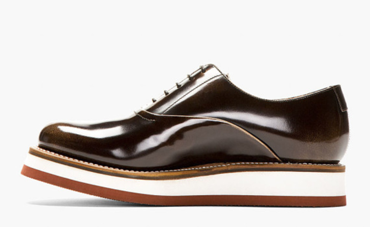 GRENSON - Sammy Oxford Shoe in Buffed Brown Leather - 3