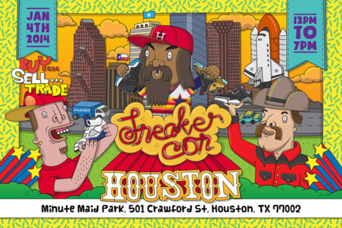 Sneaker Con Houston - Saturday, January 4th, 2014 - 1