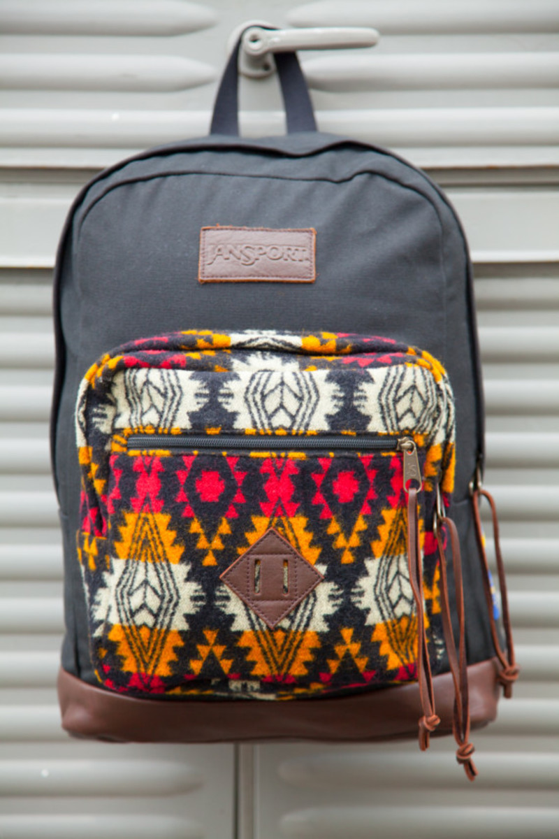 """Benny Gold x JanSport x Pendleton - Spring 2014 Limited Edition """"Right"""" Pack - 6"""