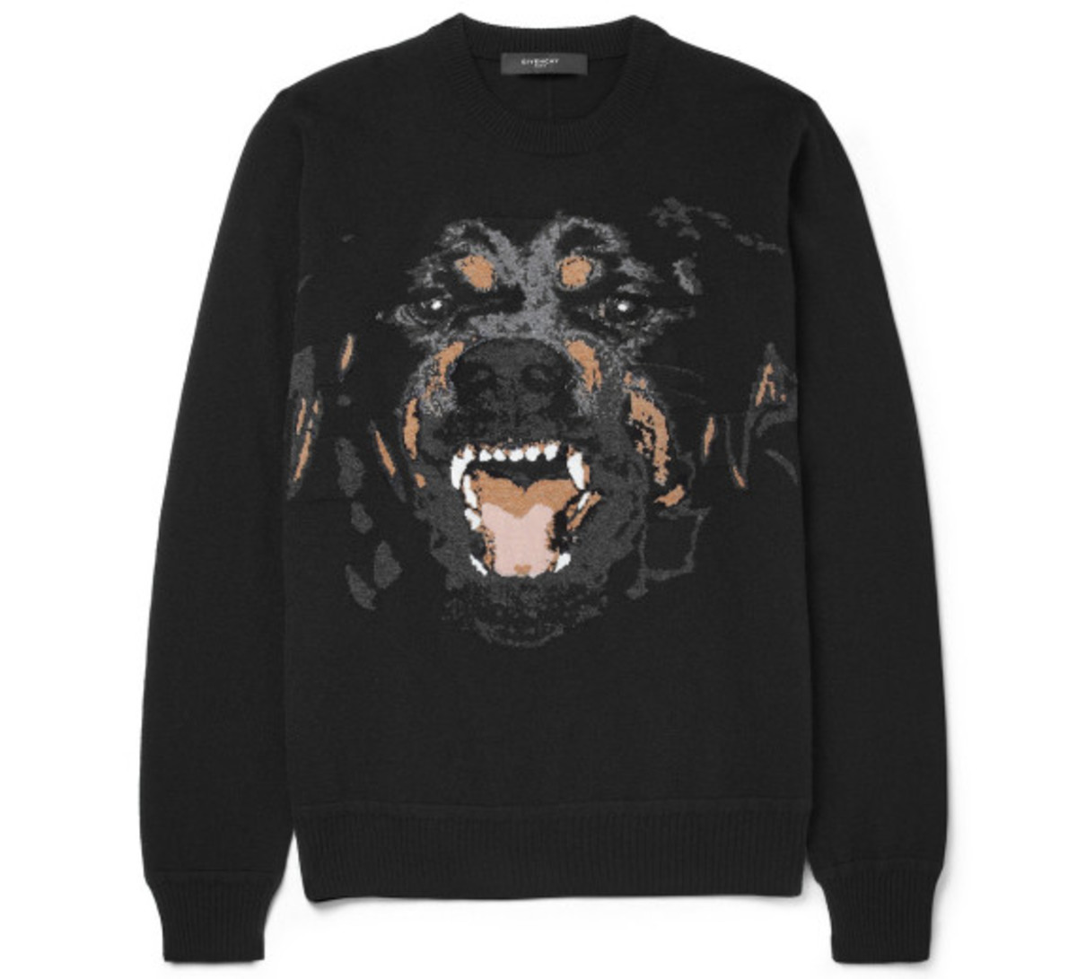GIVENCHY – Rottweiler Print Cotton Sweatshirt - 0