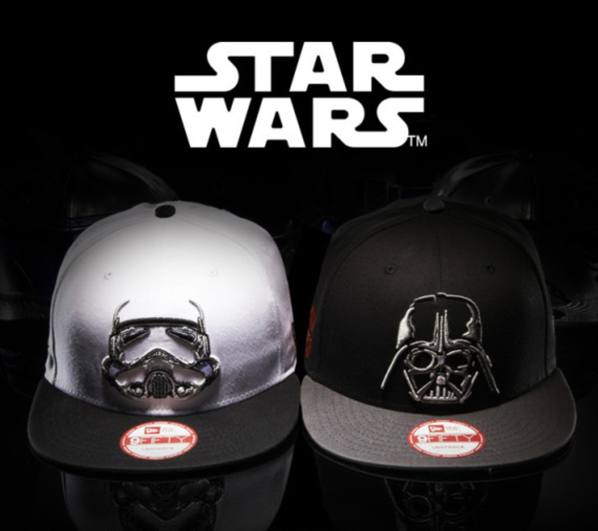 Star Wars x New Era 9FIFTY Snapback Cap Collection - 0