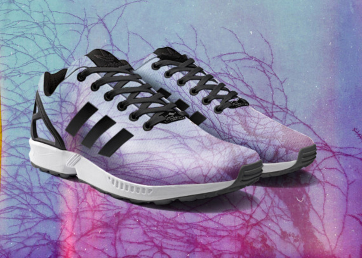 adidas ZX Flux To Become mi Adidas Design Option with Photorealistic Print - 1