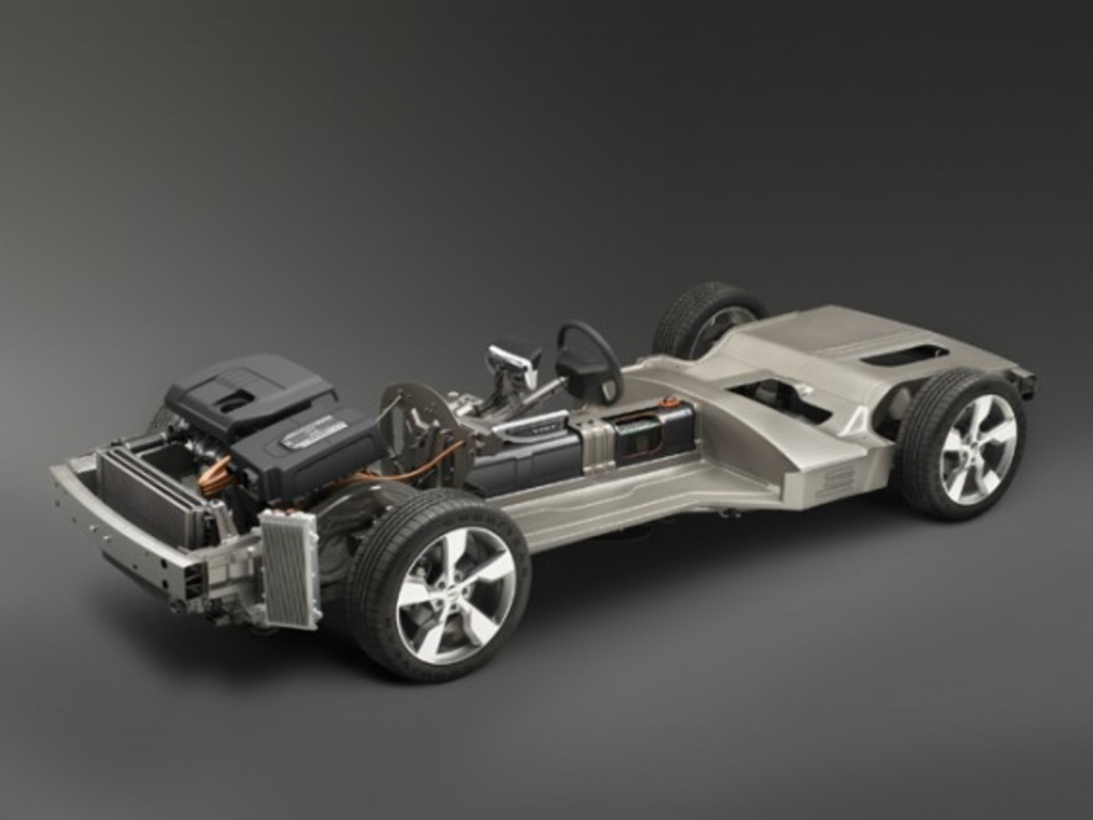 Chevrolet Volt Chassis (© GM Corp.)
