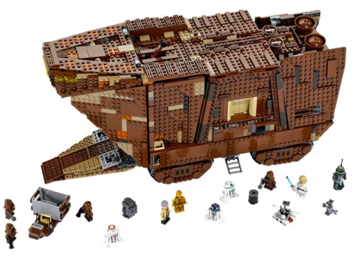 LEGO x Star Wars - Jawas Sandcrawler | For May The 4th Day - 7