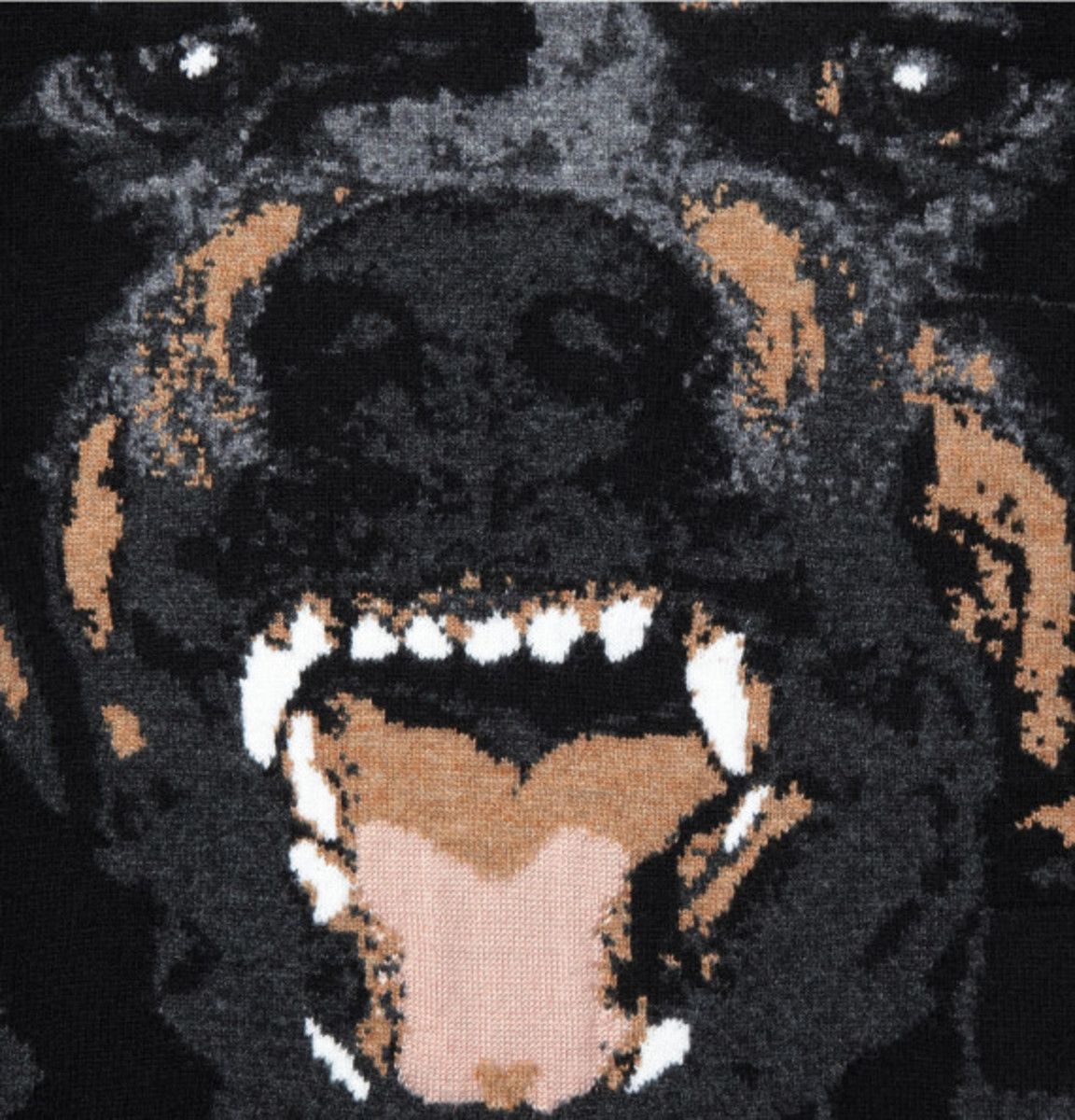 GIVENCHY – Rottweiler Print Cotton Sweatshirt - 3