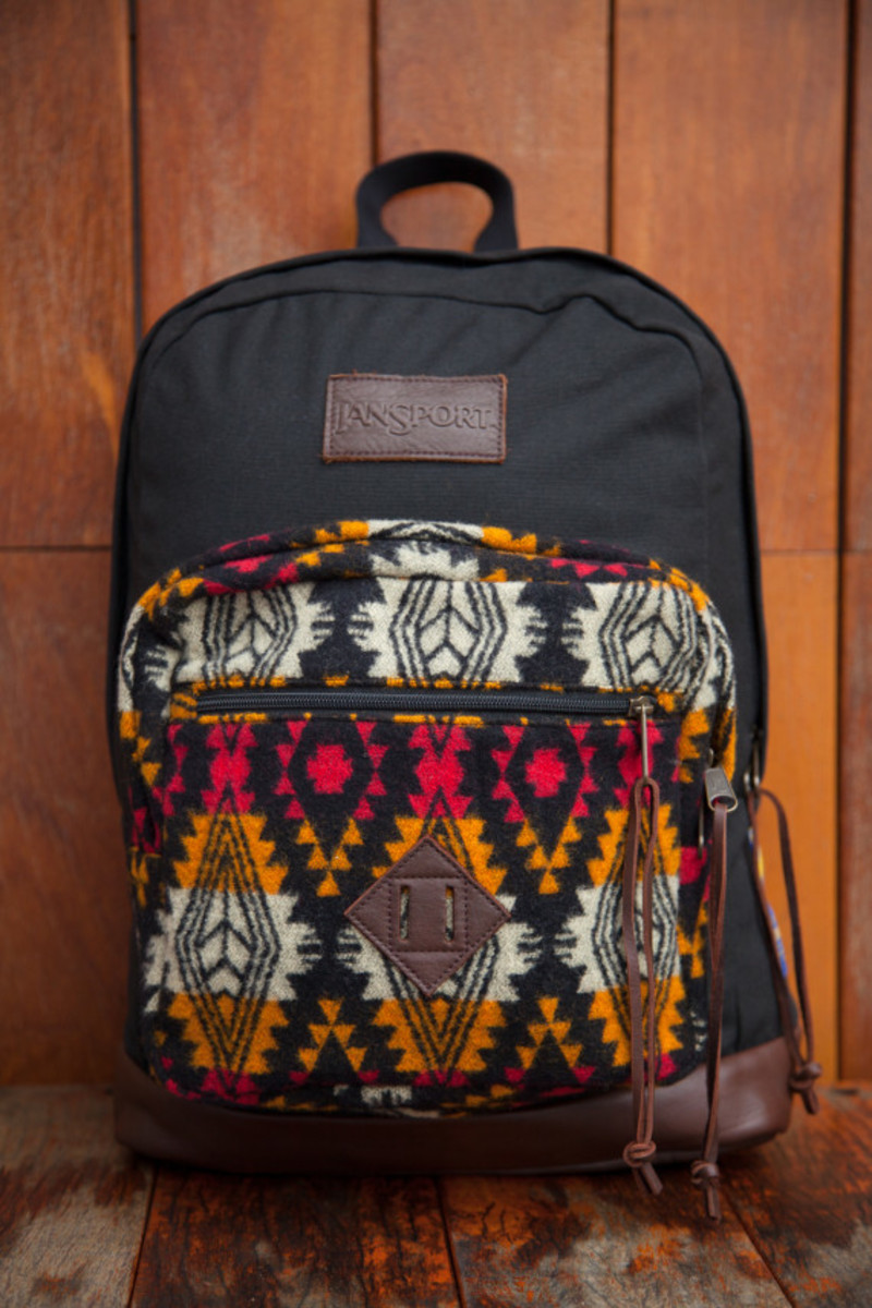 """Benny Gold x JanSport x Pendleton - Spring 2014 Limited Edition """"Right"""" Pack - 3"""