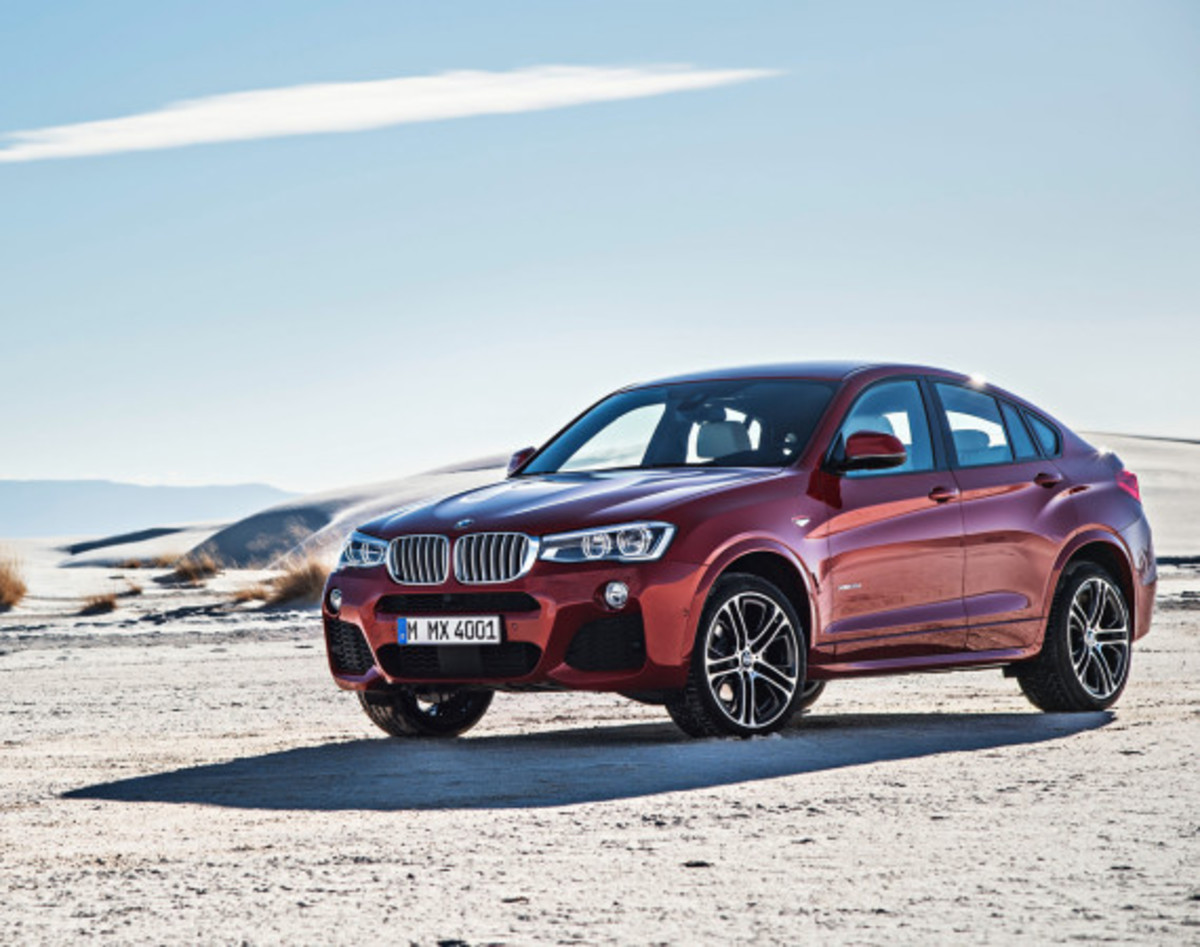 BMW X4 Sports Activity Coupe - Officially Unveiled - 5