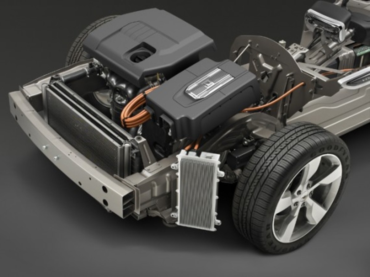 Chevrolet Volt Chassis Cutaway (© GM Corp.)