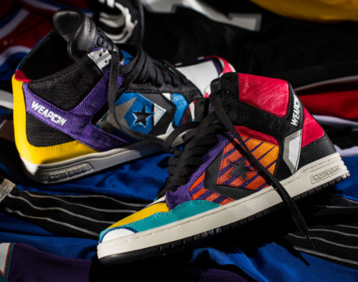 "UNDEFEATED x CONVERSE CONS Weapon - ""Patchwork"" 