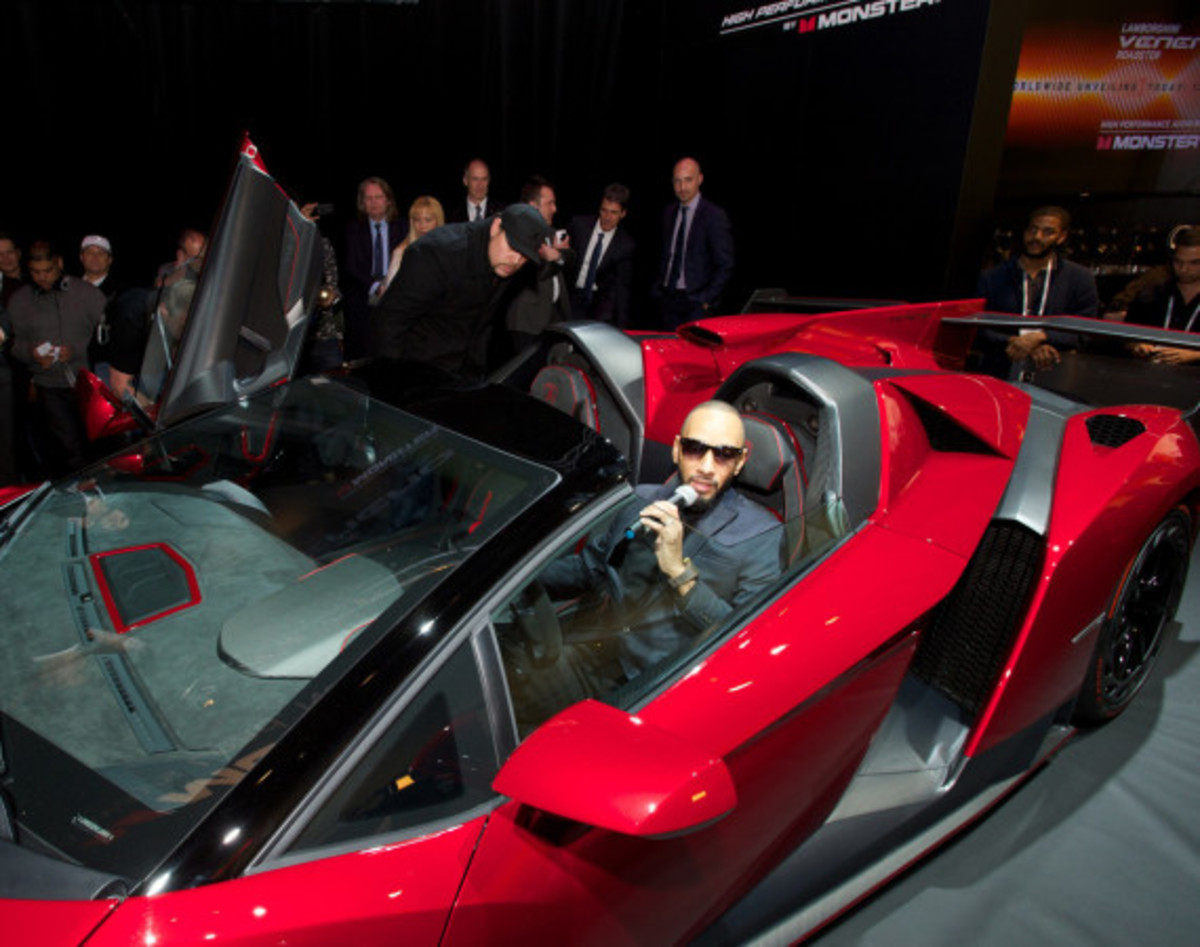 Monster Teams Up With Lamborghini For H-Fi Audio System on Veneno RDS Roadster - 1