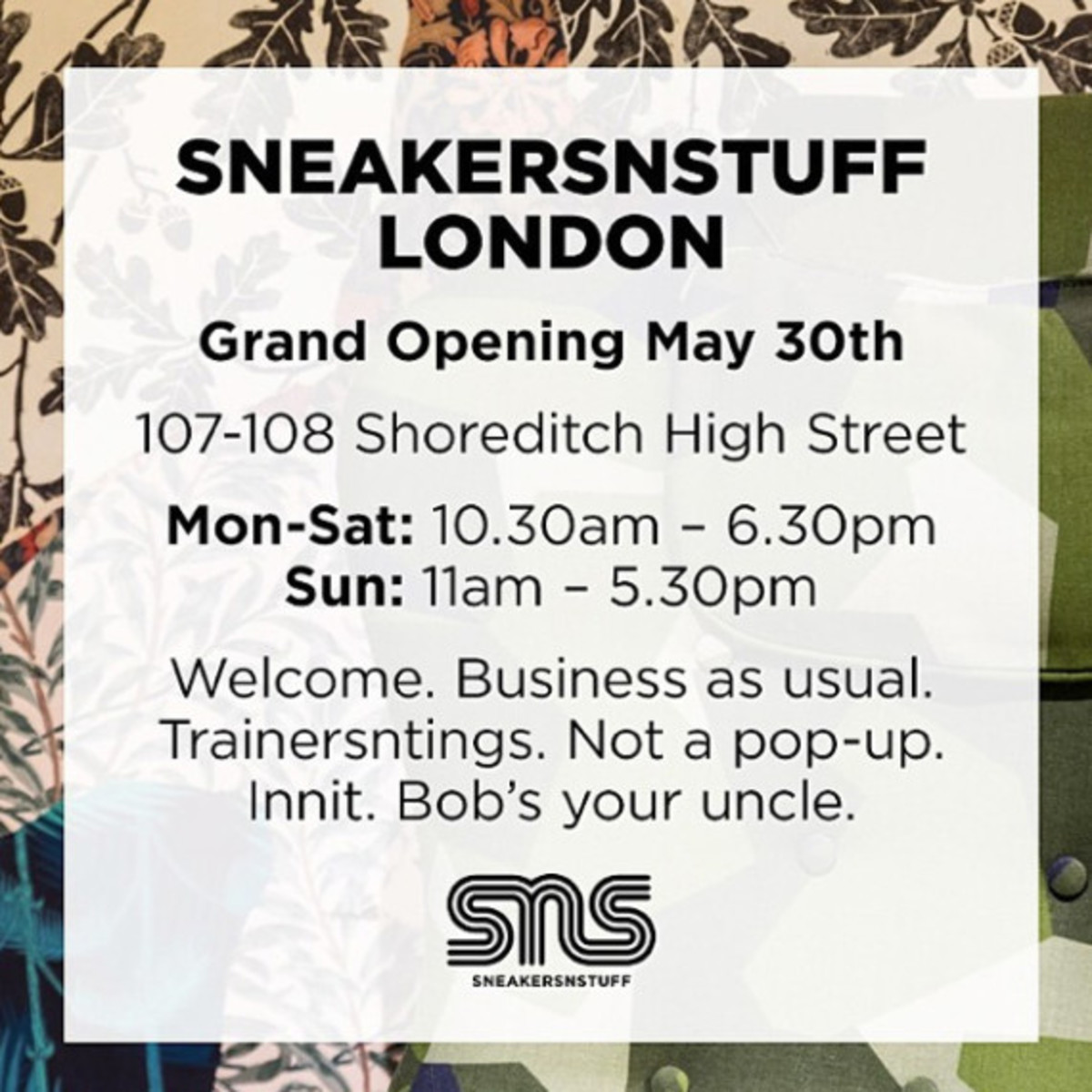 SneakersNStuff London - Grand Opening Re-Stock Event - 10
