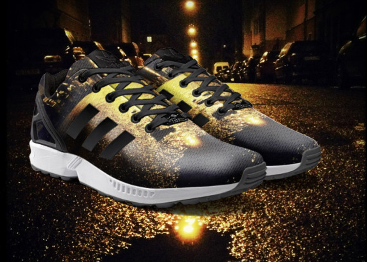 adidas ZX Flux To Become mi Adidas Design Option with Photorealistic Print - 6