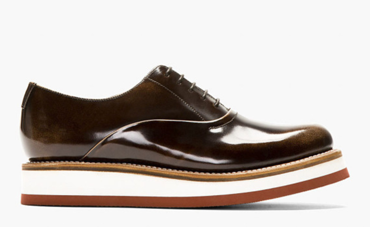 GRENSON - Sammy Oxford Shoe in Buffed Brown Leather - 0