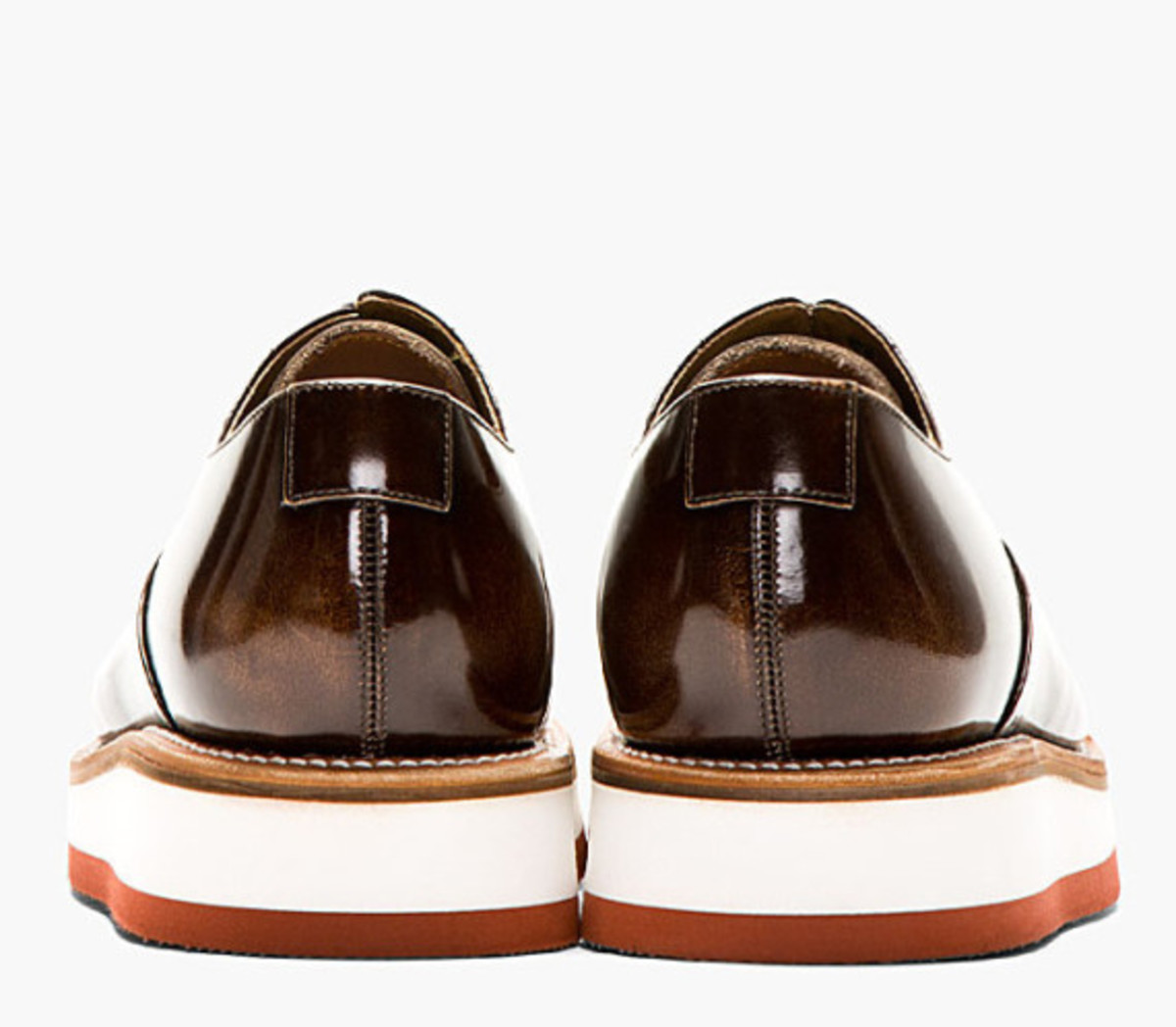 GRENSON - Sammy Oxford Shoe in Buffed Brown Leather - 4