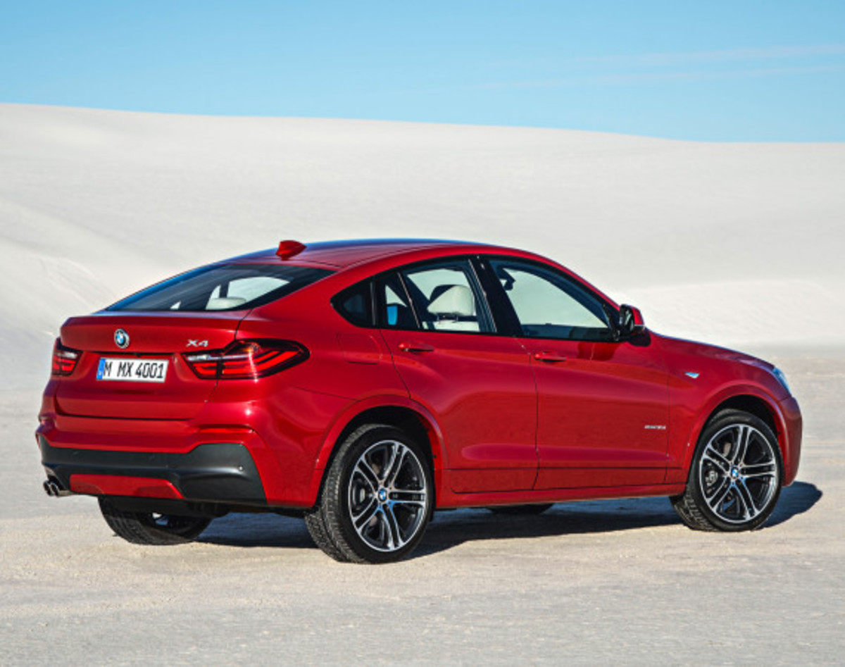 BMW X4 Sports Activity Coupe - Officially Unveiled - 16