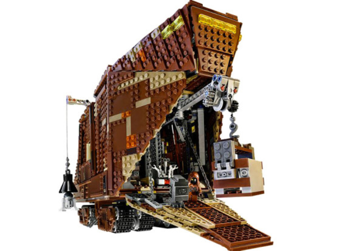 LEGO x Star Wars - Jawas Sandcrawler | For May The 4th Day - 5