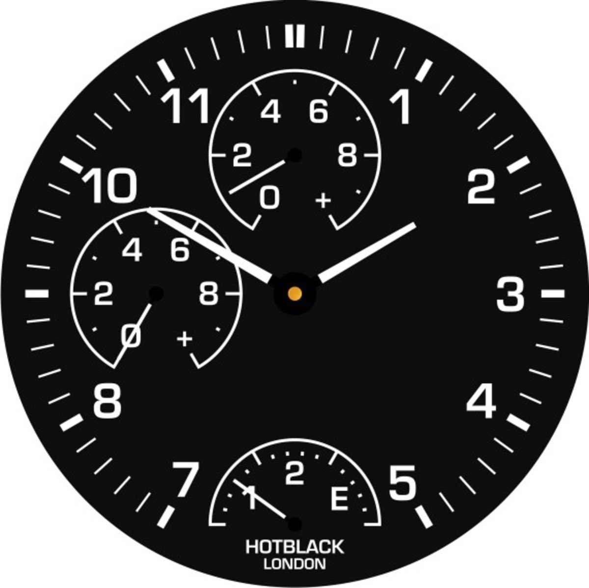 HotBlack Smartwatch - Analog Watch With Live Soccer Match Scores - 3