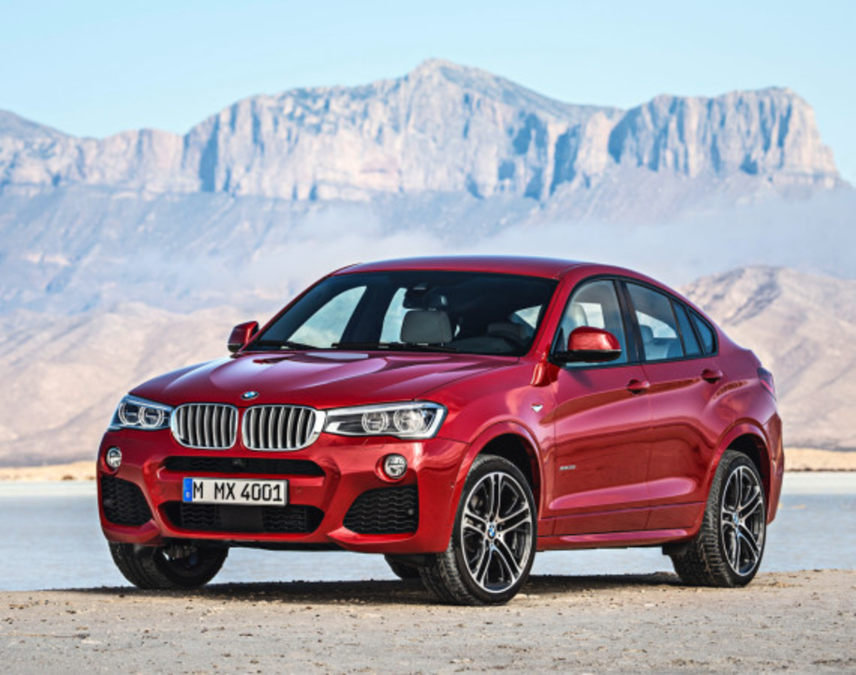 BMW X4 Sports Activity Coupe - Officially Unveiled - 9