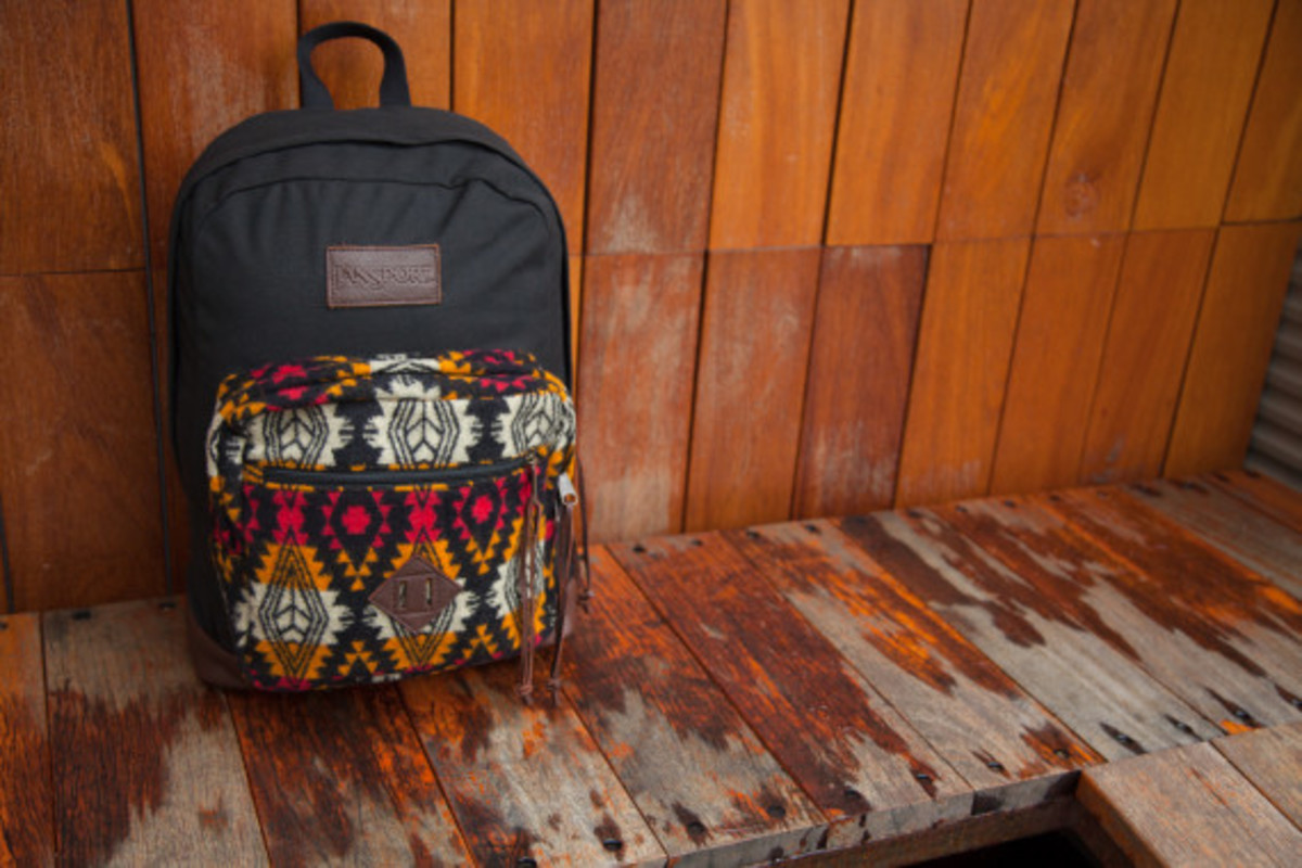 """Benny Gold x JanSport x Pendleton - Spring 2014 Limited Edition """"Right"""" Pack - 4"""