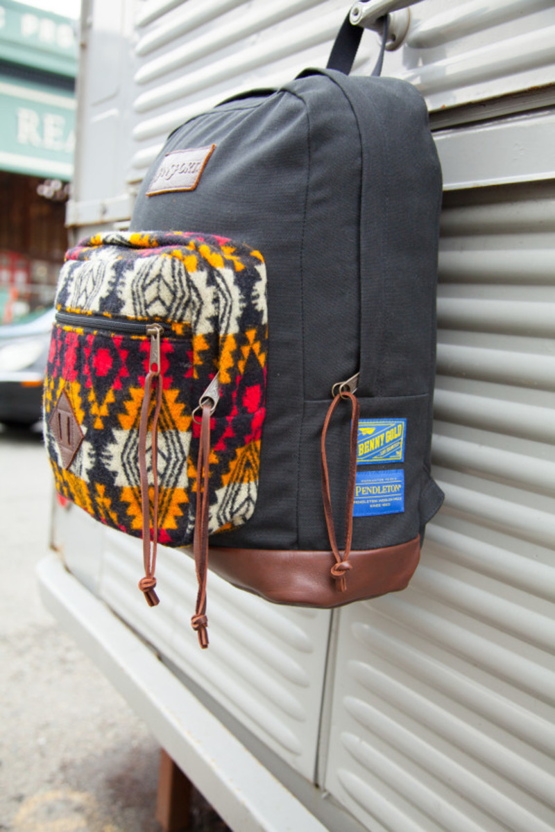 """Benny Gold x JanSport x Pendleton - Spring 2014 Limited Edition """"Right"""" Pack - 7"""