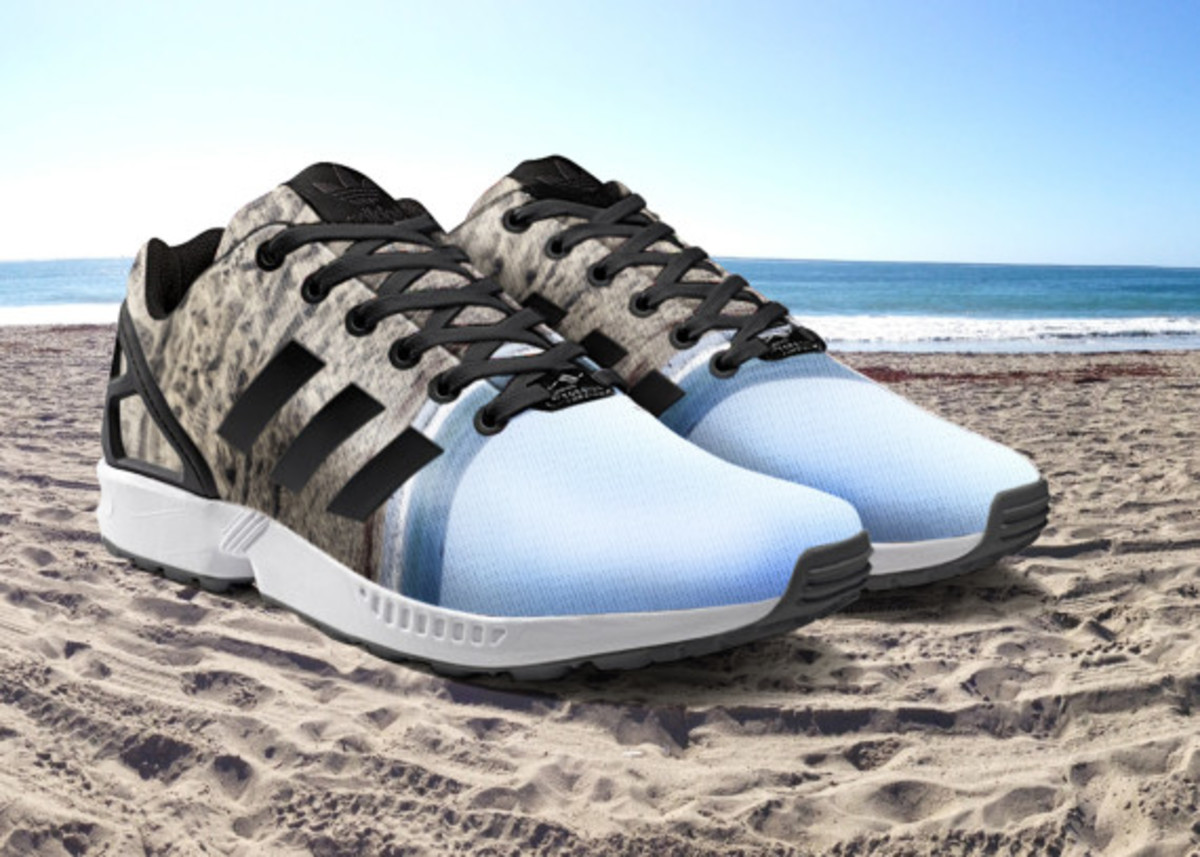 adidas ZX Flux To Become mi Adidas Design Option with Photorealistic Print - 8
