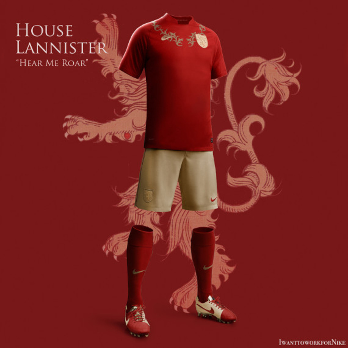 Game of Thrones-inspired Nike Soccer Kit Concepts by Nerea Palacios - 7