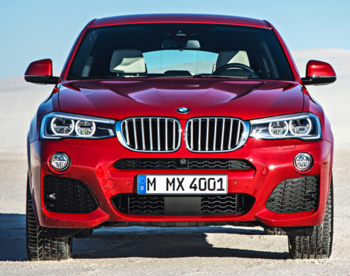 BMW X4 Sports Activity Coupe - Officially Unveiled - 4