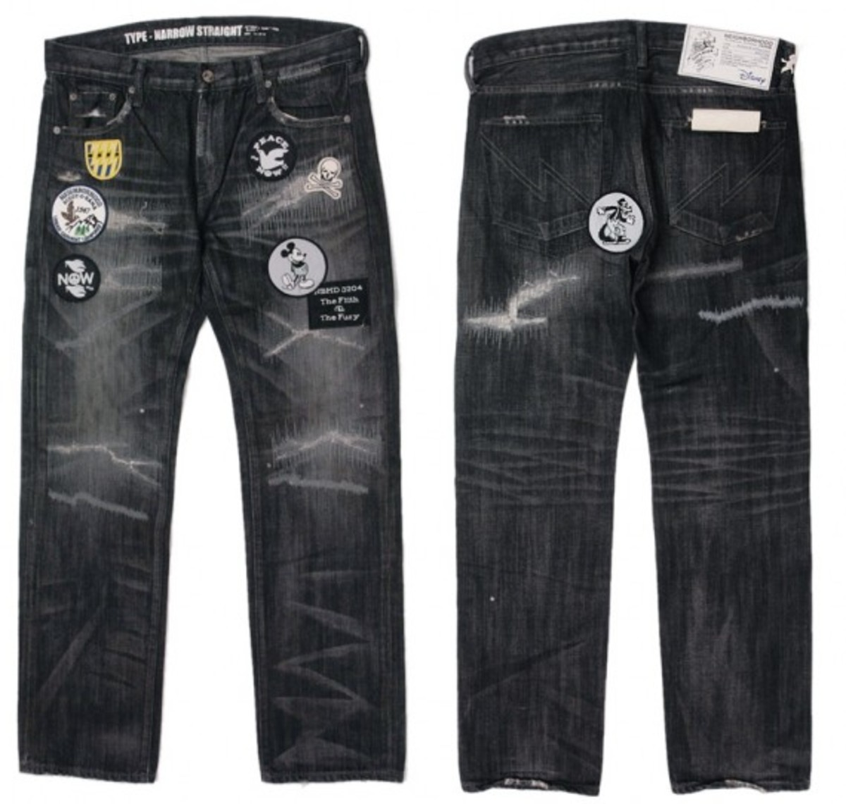 black-denim