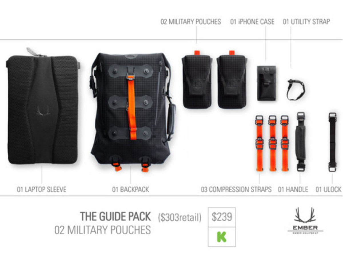 Modular Urban Backpack by EMBER EQUIPMENT - 11