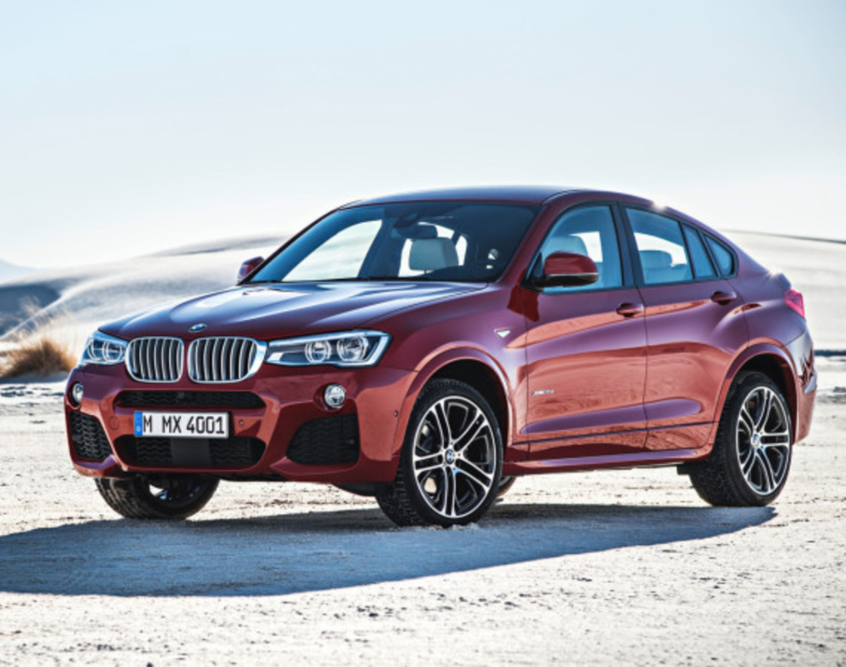 BMW X4 Sports Activity Coupe - Officially Unveiled - 6