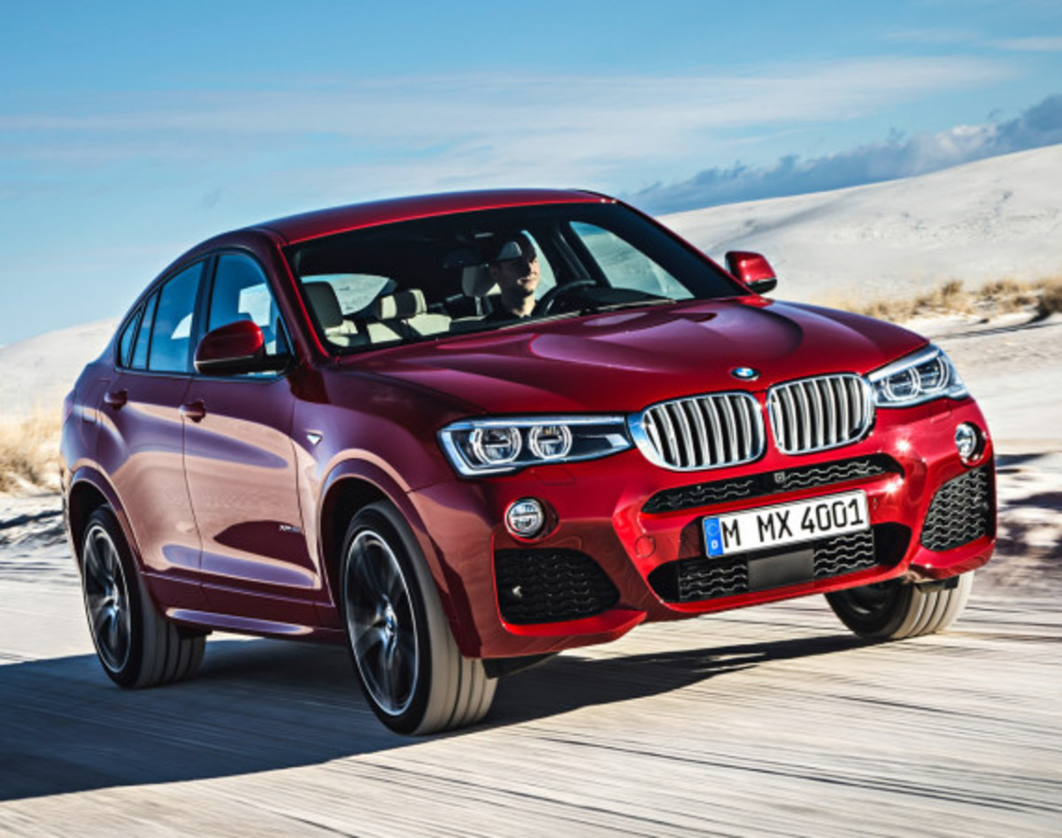 BMW X4 Sports Activity Coupe - Officially Unveiled - 2