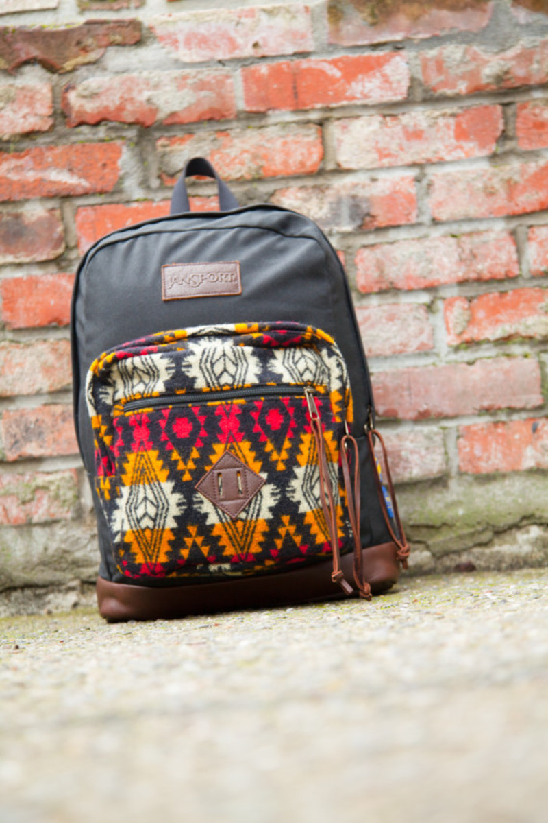 """Benny Gold x JanSport x Pendleton - Spring 2014 Limited Edition """"Right"""" Pack - 10"""