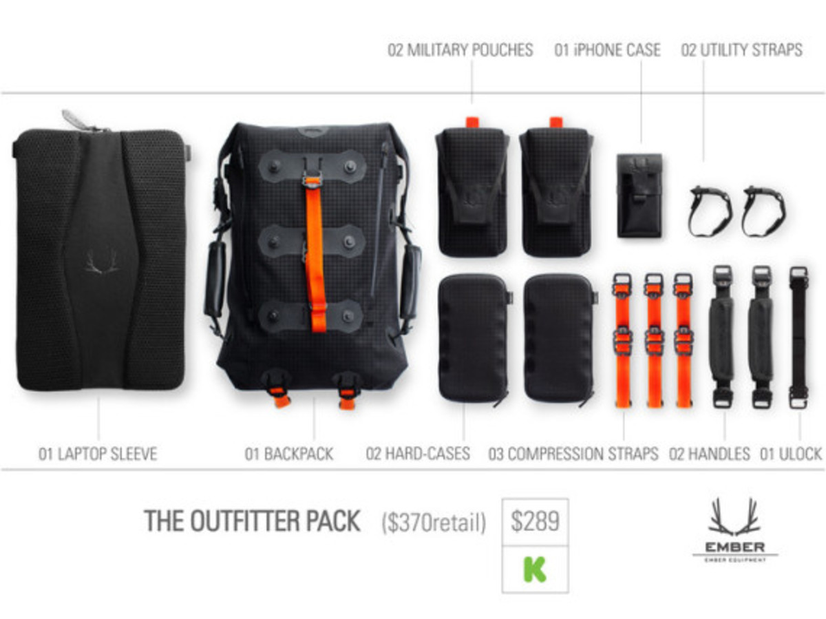 Modular Urban Backpack by EMBER EQUIPMENT - 15