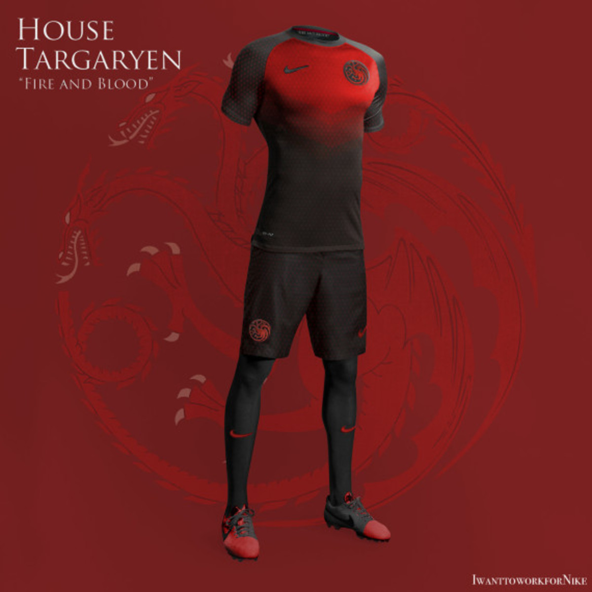 Game of Thrones-inspired Nike Soccer Kit Concepts by Nerea Palacios - 12