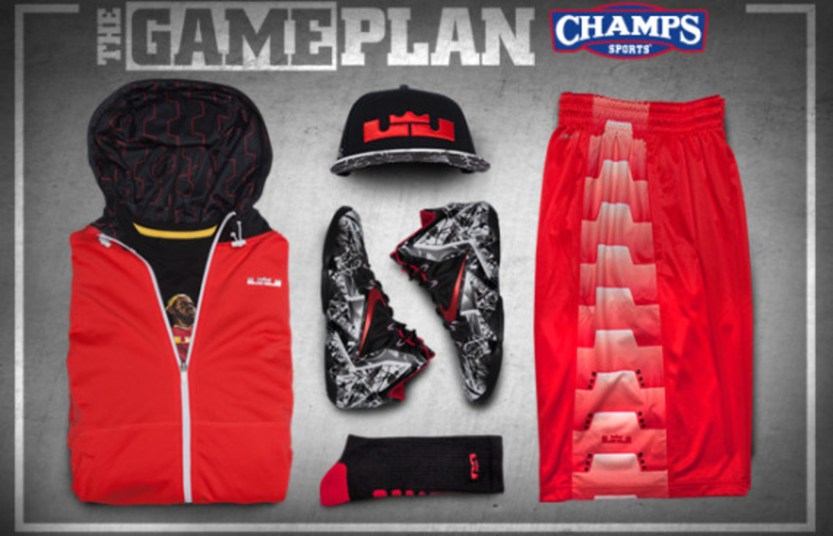 "The Game Plan by Champs Sports - Nike LeBron 11 ""Graffiti"" Collection - 0"