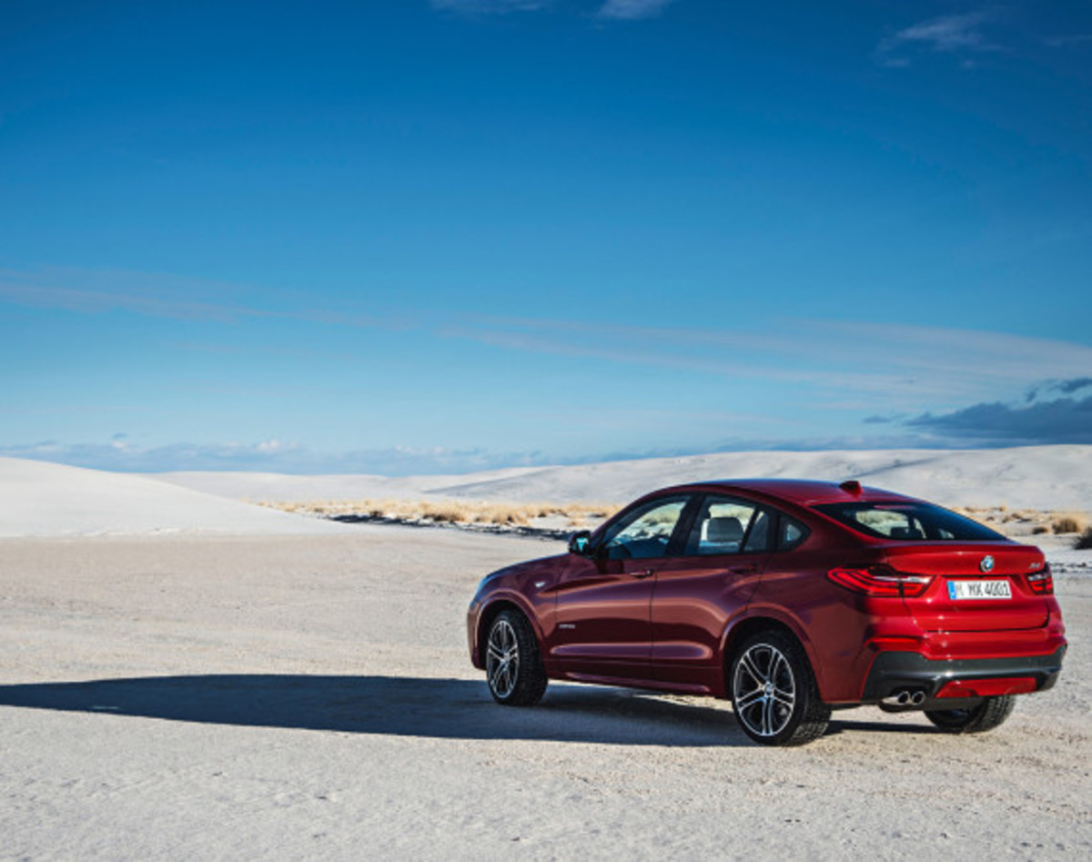 BMW X4 Sports Activity Coupe - Officially Unveiled - 10