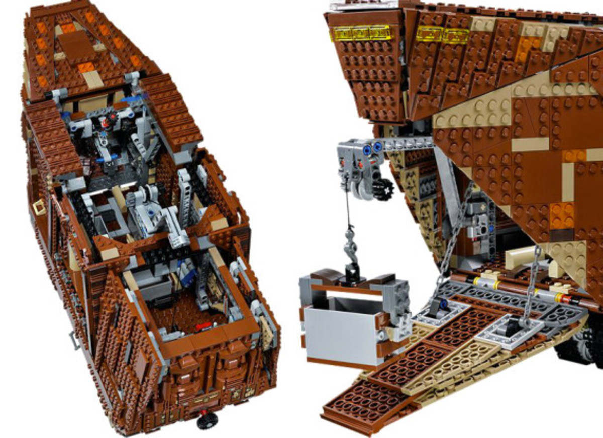 LEGO x Star Wars - Jawas Sandcrawler | For May The 4th Day - 4
