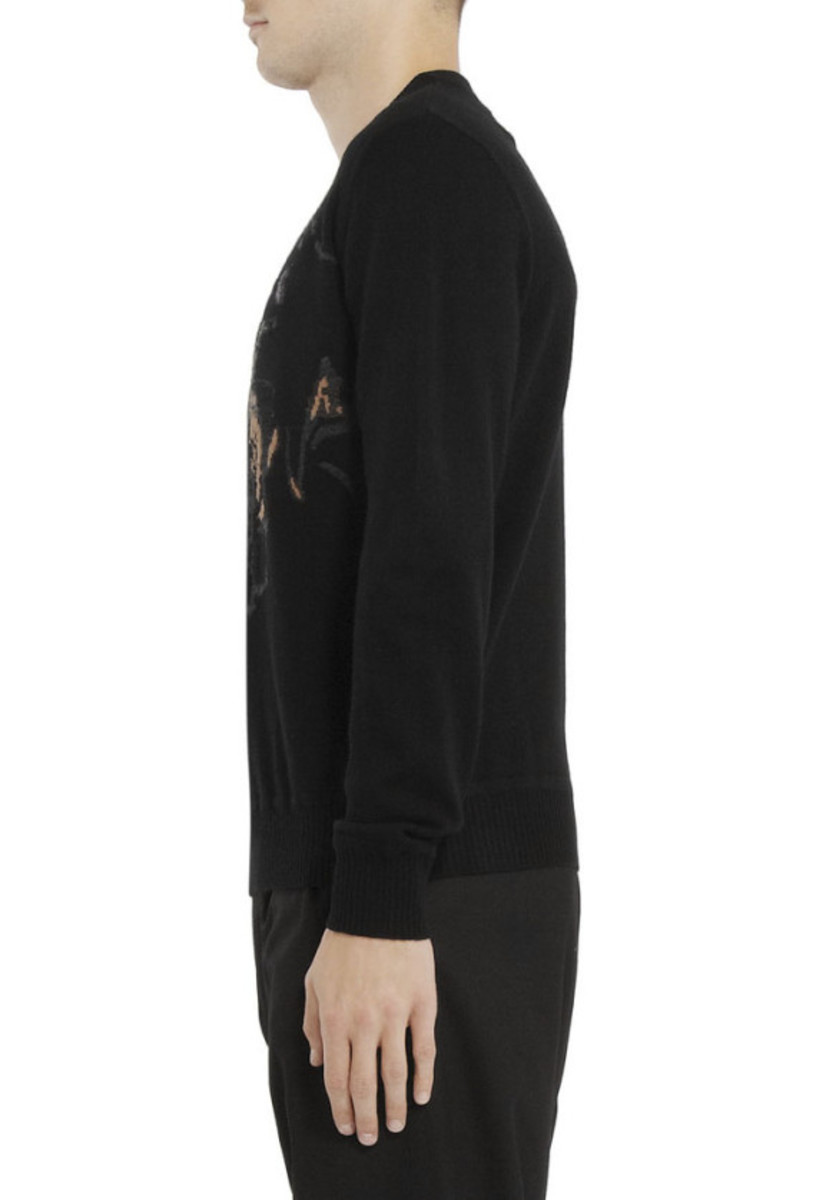 GIVENCHY – Rottweiler Print Cotton Sweatshirt - 4