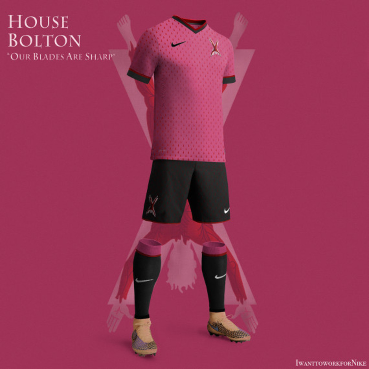 Game of Thrones-inspired Nike Soccer Kit Concepts by Nerea Palacios - 4