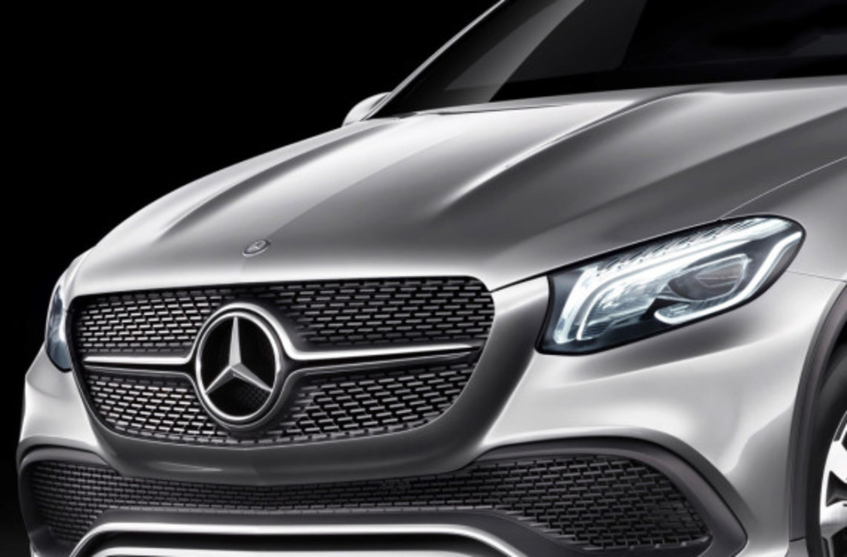 Mercedes-Benz Concept Coupe SUV - MLC Luxury Crossover - 3