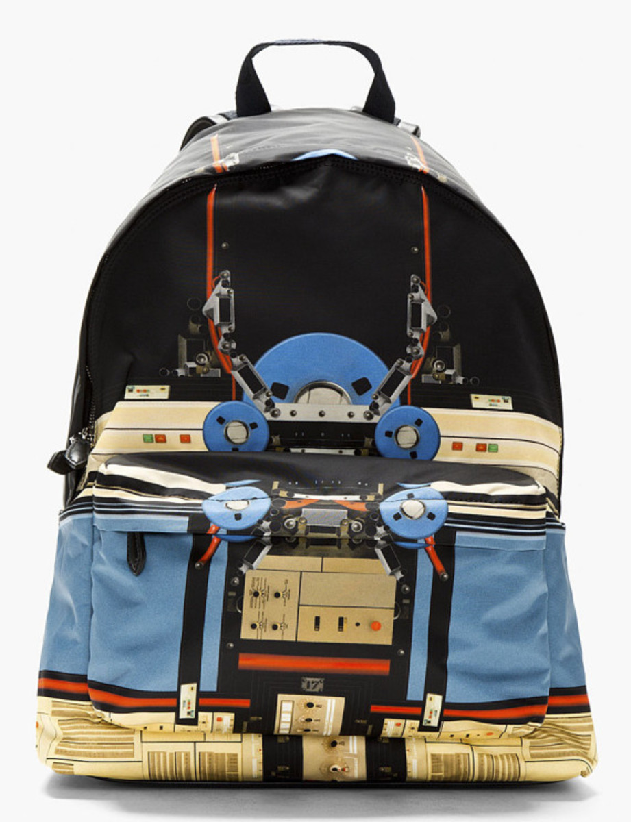 GIVENCHY Robot Print Backpack - 0